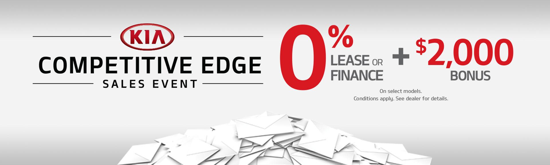 Competitive Edge Sales Event