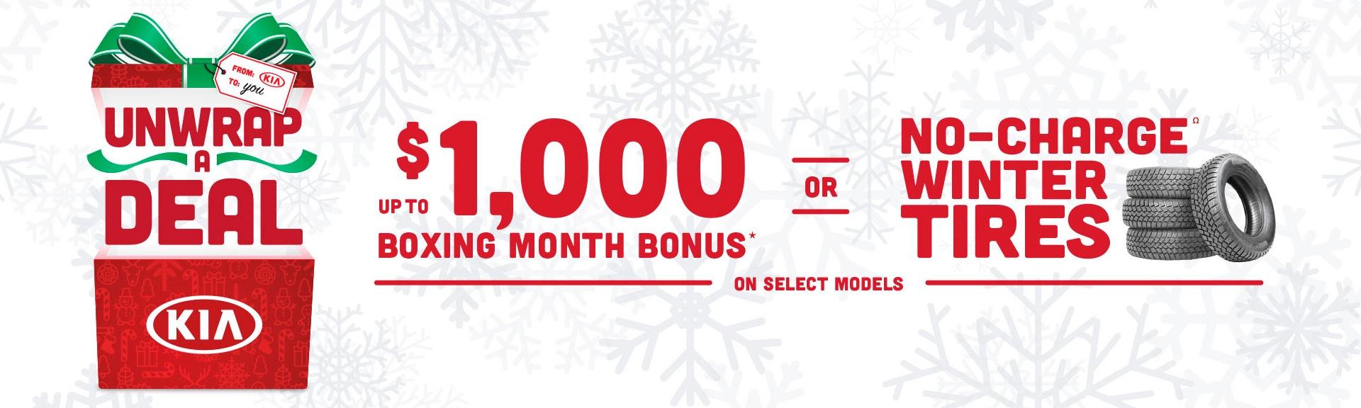 Boxing Month Bonus